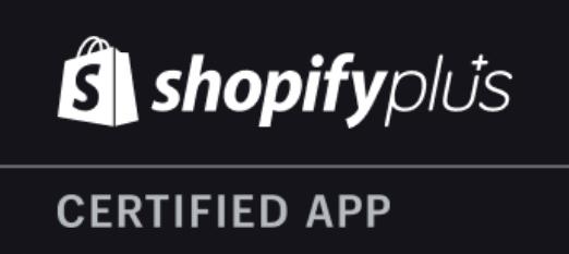 Shopify Plus Certified App